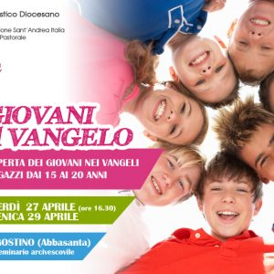 I sette giovani del Vangelo: weekend per adolescenti in cammino
