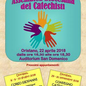 Domenica 22 aprile l'Assemblea diocesana dei Catechisti