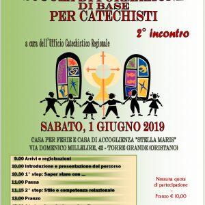 Formazione di base dei Catechisti: 2° appuntamento della Scuola Regionale