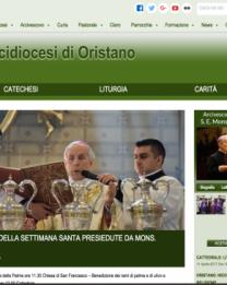 Presentazione del Nuovo Sito chiesadioristano.it