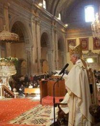 Omelia dell'Arcivescovo per il Pontificale di Natale