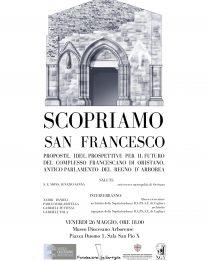 Conferenza sul complesso francescano di Oristano