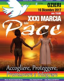 Il 16 dicembre a Ozieri la XXXI Marcia della Pace