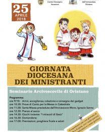 Il 25 aprile a Oristano la Giornata Diocesana dei Ministranti