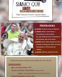 Incontro dei giovani italiani con Papa Francesco in vista del Sinodo