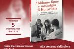 """Ufficio Comunicazioni Sociali: il 5 dicembre la presentazione del Libro """"Abbiamo fame e nostalgia di Eucaristia"""", di padre Jihad Youssef"""