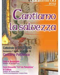 """Domenica 7 aprile in Cattedrale il concerto """"Cantiamo la salvezza"""""""