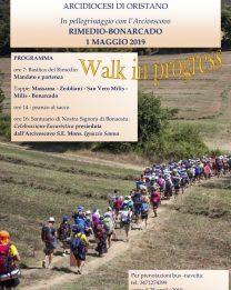 Il 1° maggio la dodicesima edizione del Pellegrinaggio Rimedio-Bonarcado