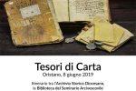 """Sabato 8 giugno l'iniziativa """"TESORI DI CARTA"""""""