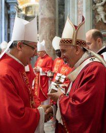 Domenica 27 ottobre in Cattedrale verrà imposto il Pallio al nostro Arcivescovo
